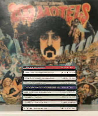 7 CDs Frank Zappa 1980-84 Tinseltown, Shut Up, You Are, Ship Arriving, + 3 More