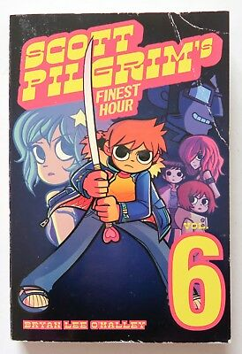 Scott Pilgrim Vol. 6 Finest Hour One Press Manga Graphic Novel Anime Comic Book