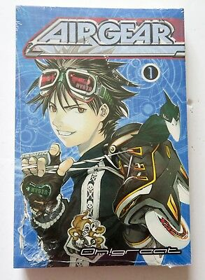 Airgear Vol. 01 Oh Great Del Rey Ballantine Books Manga Novel Anime Comic Book
