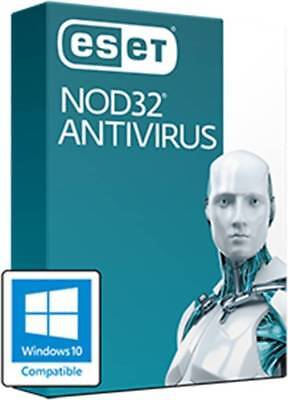 ESET Nod32 Antivirus 2019  product key per email 1, 2, 3 PC / 1, 2, 3 Jahre