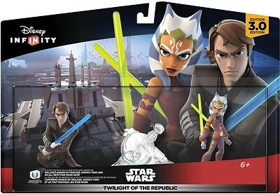 Disney Infinity Figures 3.0 STAR WARS Character Twilight of the Republic Playset