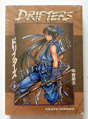 Drifters Vol. 3 Kohta Hirano Dark Horse Manga Novel Anime Comic Book