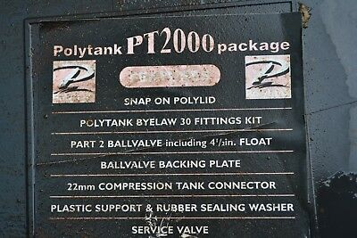 black,Polytank feed and expansion cistern pt 2000