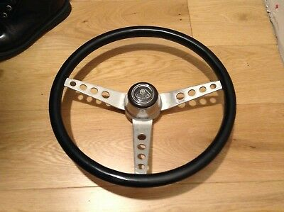 Original Springall wood steering wheel LOTUS Elan S1 S2 S3 LOTUS Cortina volant