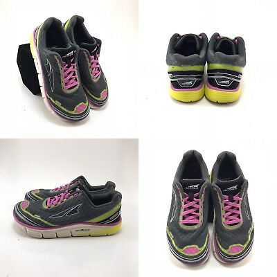 db9078fa2b23 Altra Torin 2.0 Gray Purple Athletic Running Shoes Sneakers Womens Size 6.5  W