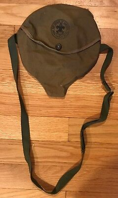Vintage Official Boy Scouts Mess Kit Cloth Carrying Bag Only