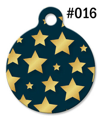 Dog Tag Art Personalized Pet ID Tags for Dogs and Cats. Made in USA ~ Design#016