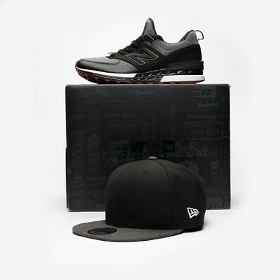 big sale 6eb98 c42cf NEW BALANCE MS574NE x New Era Pack Black/Silver Men Sizes NEW 100% Authentic