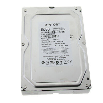 3.5-Inch Desktop Internal HDD Hard Drive 250GB SATA 3Gb/s 8MB Cache 7200RPM