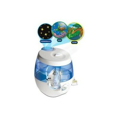 Wick Ultraschall Luftbefeuchter Sweet Dreams 2in1 mit Lichtprojektion WUL575E4