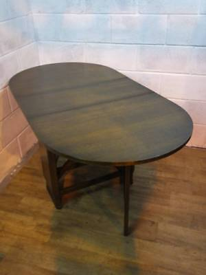 Utility Furniture Medium  Oak Veneer  Drop Leaf Gate Leg Kitchen / Dining Table.