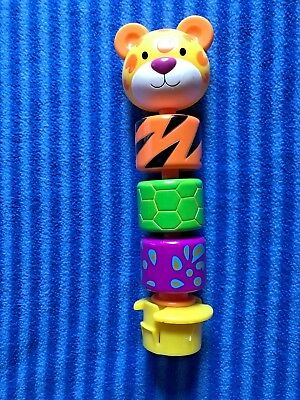 Evenflo Mega Circus Exersaucer Cat Spinning Rings Toy  Replacement Part