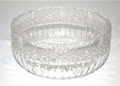 Coupe à fruit/ Saladier. Cristal  Saint-Louis France. Signé. Circa 1950