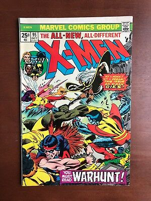 X-Men #95 (1975) 7.5 VF Marvel Key Issue Comic Bronze Age 3rd App New X-Men