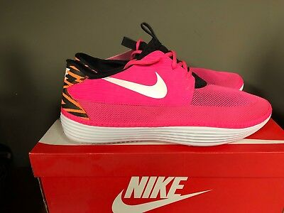 newest 23724 95286 ... blanc outsole chaus  nike solarsoft moccasin mens athletic pink black  555301 618 new