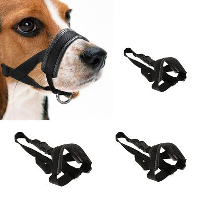 Dog Muzzle Adjustable Breathable Safety Training Muzzle Easy Fit for Dogs
