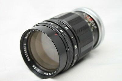 Sankyo Kohki Komura 135mm 1:2.8 Lens For Minolta *As Is* #W021c