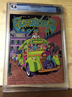 Grateful Dead Comix #2 (1991, Kitchen Sink Press) CGC 9.6 Rand Holmes cover