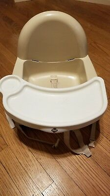 Used Safety 1st Swing Tray Booster Seat Cream