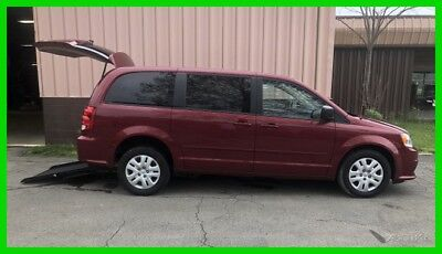 2015 Dodge Grand Caravan Wheelchair Handicap 2015 SE Used 3.6L V6 24V Automatic FWD Minivan/Van