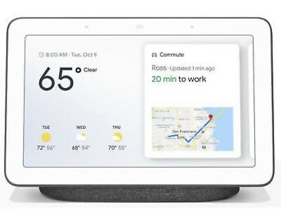 Google GA00515-US Home Hub with Google Assistant - Charcoal