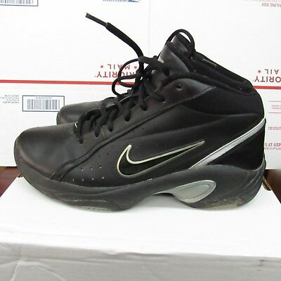 b6251b329551 Nike Mens Overplay IV 318853-002 Black Size 11.5 M Basketball Shoes Overpaly