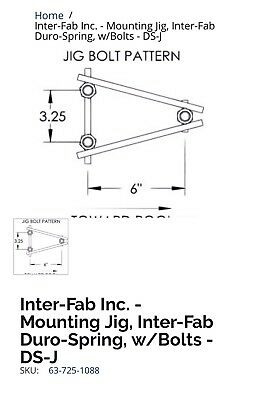 Diving Board Joh inter-fab DS-J Duro Spring
