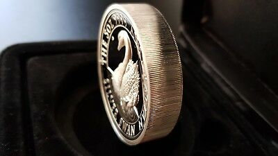 The Australian Silver Swan - 5oz SILVER PROOF HIGH RELIEF 2018