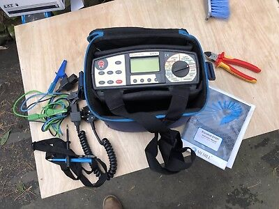 METREL INSTALTEST 61557 MULTI FUNCTION ELECTRICAL TESTER, Insulation,loop,Ze,Zs