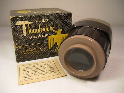 "Vintage Guild Thunderbird 2 1/4"" Picture Slide Viewer AS IS"