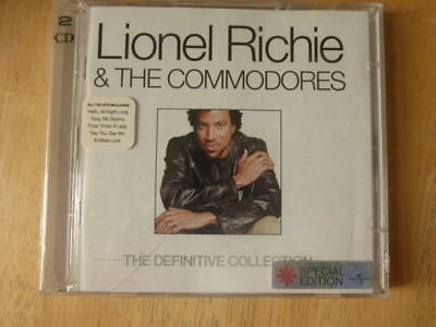 Lionel Richie & The Commodores ‎– The Definitive Collection - 2 CD Set ( Hello )