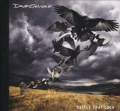 DAVID GILMOUR Rattle That Lock (CD and Hardback Digibook) NEW! FAST SHIPPING!
