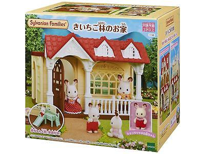 Pre Order Sylvanian Families Calico Critters Raspberry Forest House Epoch HA-50