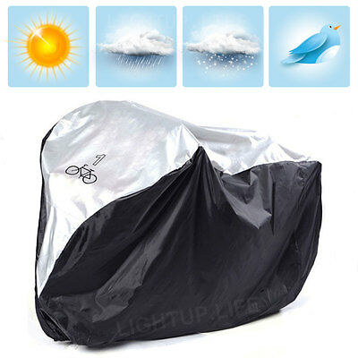 Universal Funda Cubierta Impermeable para Bicicleta Lluvia Sol Nieves Proteger