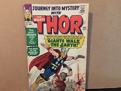 Journey Into Mystery 104 Thor Marvel Comics Silver Age Combine Shipping