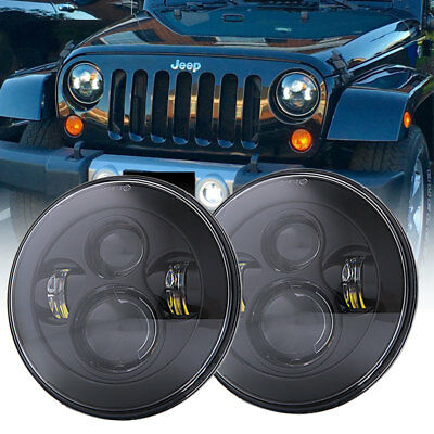 2pcs 7inch LED CREE Headlights Projector Headlamps For Jeep Wrangler JK TJ LJ