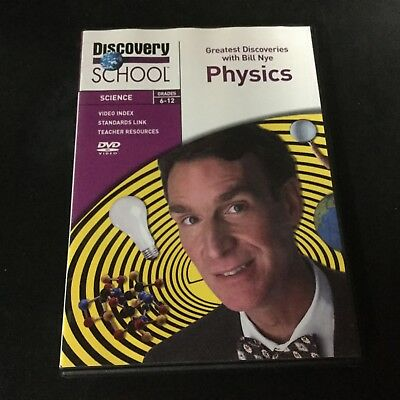 Discovery School with  BILL NYE THE SCIENCE GUY Physics DVD