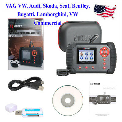 USA VIDENT iLink400 Full System Diagnostic Tools ABS/SRS/EPB//DPF Update Online