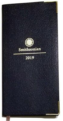 2019 Smithsonian Weekly/Monthly Pocket Planner / Calendar 3-1/4 in x 6-3/4 in