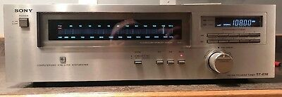 Sony ST-636 FM/AM Tuner With Manual Works Rare