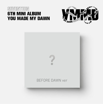"K-POP SEVENTEEN 6th Mini Album ""YOU MADE MY DAWN"" [ 1 Photobook + 1 CD ] BD Ver"