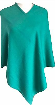 Cashmere Poncho Green Winter Women Pashmina Cardigan Warm Wrap Cape 28""