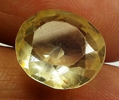 14.10 CT YELLOW SAPPHIRE Lab Created A+++Wonderful Quality Round Shaped Gem 1672