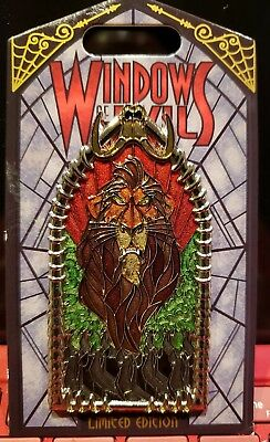 Windows Of Evil Pin Scar LE 2000 Disneyland New Release Pin *sold out*