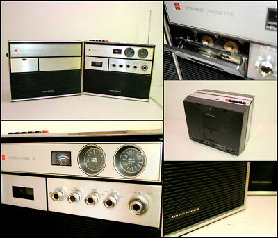 National Panasonic RD-50502BA Radio Cassette Boombox (Made in Japan)