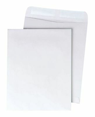 "Quality Park Catalog Envelopes With Gummed Closure, 9"" x 12"", White, Box Of 250"