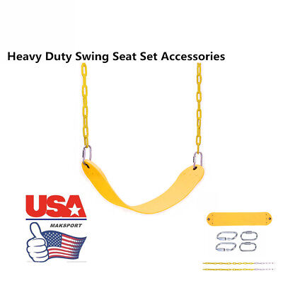 US SWINGS 660lbs Heavy Duty Swing Seat HOME Hanger Chain Replacement Playground