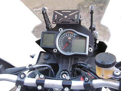 GPS bracket holder mount HEED for KTM 1190, 1050 and 1290 ADVENTURE - black