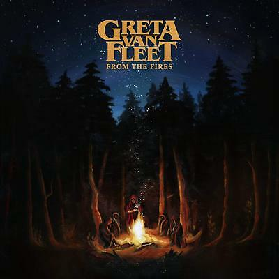 From The Fires by Greta Van Fleet Rock Pop Lava Music 0602567126034 Audio CD NEW