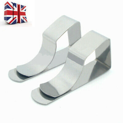8x British Steel Table Cloth Cover Clip Quality Metal Pegs Clamps Picnic Prom UK